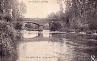 Le pont rouge - Contributeur : A. Demolder