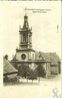 eglise Notre-Dame avant-guerre - Contributeur : Françoise Portaz