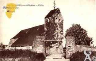 L'église - Contributeur : CPA/N.Gilbert