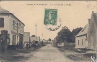 Grand rue 1913  - Contributeur : T.Martin