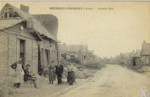Grand rue maisons provisoires  - Contributeur : T.Martin