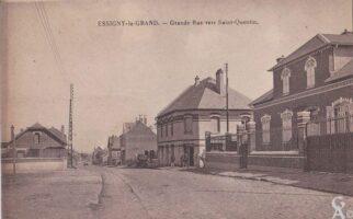 GRand rue vers Saint-Quentin - Contributeur : T.Martin