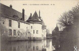 Le château côté Nord - Contributeur : T.Martin