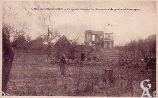 Propriété Caramelle, commerce de grain et fourrage - Contributeur : T.Martin
