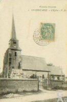 L'église avant la guerre - Contributeur : T.Martin