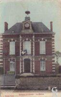 La mairie en 1916 - Contributeur : T.Martin