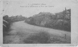 Ruines de la gendarmerie   - Contributeur : A.Giffard
