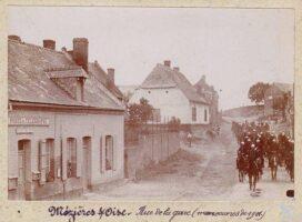 Rue de la gare - 1901 - Contributeur : T.Martin