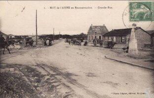 La grande rue - reconstruction - Contributeur : T.Martin