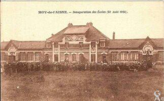 Inauguration des ecoles 1924 - Contributeur : T.Martin