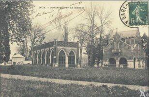 Orangerie et moulin - Contributeur : T.Martin