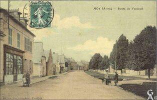 Route de Vendeuil - Contributeur : T.Martin
