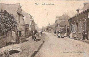 La rue des Lens - Contributeur : T.Martin