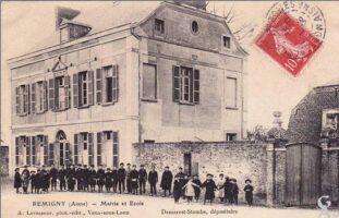 Mairie et Ecole  - Contributeur : T.Martin