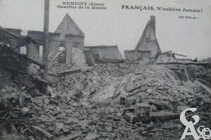 Quartier de la mairie - Destruction  - Contributeur : T.Martin