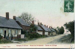 Route de St Quentin  - Contributeur : T.Martin