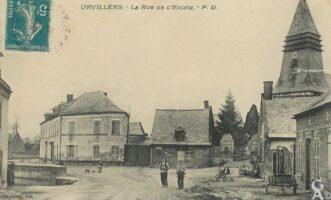 Rue de l'église - Contributeur : T.Martin