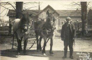 Attelage 1923 - Contributeur : T.Martin