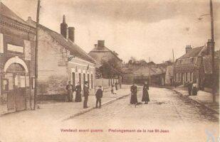 Prolongement de la rue St Jean avant-guerre - Contributeur : T.Martin
