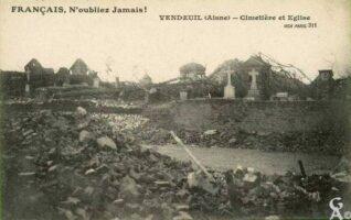 Cimetière et église -Destructions - Contributeur : T.Martin