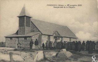 Inauguration de la chapelle 1921 - Contributeur : T.Martin