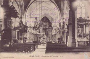 Eglise intérieur  - Contributeur : T.Martin