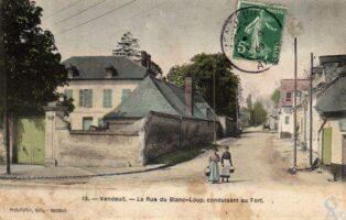 Rue du Blanc-Loup - Contributeur : T.Martin