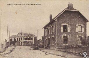 Rue St Jean et mairie - Contributeur : T.Martin