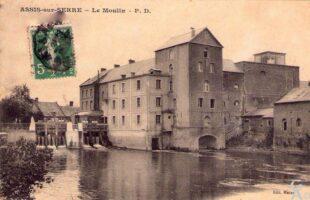 Le moulin avant 1914  - Contributeur : A. Demolder
