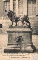 La fontaine du Lion - Contributeur : R.Hourdry