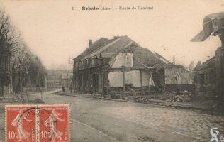 Route de Cambrai - Contributeur : R.Hourdry