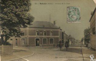Avenue de la gare - Contributeur : R.Hourdry