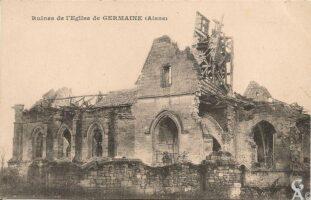 Ruines de l'église - Contributeur : R.Hourdry