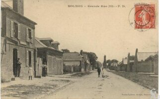 Grande rue - Contributeur : R.Hourdry
