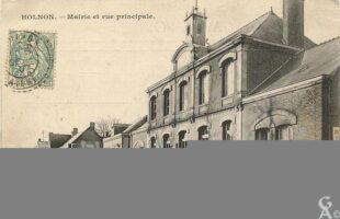 Mairie et rue principale - Contributeur : R.Hourdry