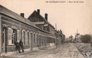 Rue de la gare - Contributeur : R.Hourdry