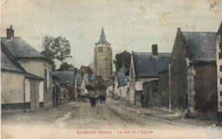 Rue de l'église - Contributeur : R.Hourdry
