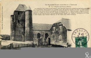 L'église fortifiée 1908 - Contributeur : N.Gilbert