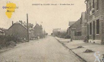 La grande rue - Recontruction vers 1925-30 - Contributeur : Mme Thérèse Barjavel