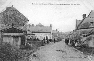 Rue de Bucy - Contributeur : Danièle Oudin