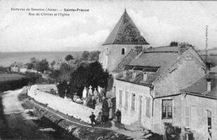Rue de Chivres - Contributeur : Danièle Oudin