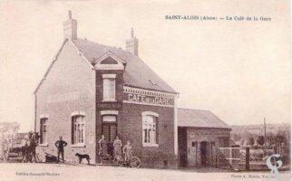 Le café de la gare - Contributeur : A.Demolder