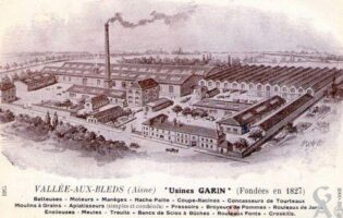 Les usines Garin fondées en 1827 - Contributeur : A.Demolder