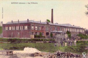 Vue d'époque de l'usine Briffault où tant d'individus des Z.A.B. et civils sont décédés dans les souffrances infligées par l'occupant allemand - Contributeur : A.Demolder