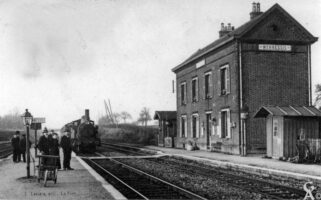 Première gare : 1892 - Contributeur : Gilles Allart