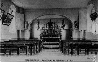 Ancienne église : l'intérieur - Contributeur : Gilles Allart