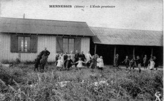 Ecole provisoire - Contributeur : Gilles Allart