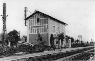 La gare - Contributeur : Gilles Allart