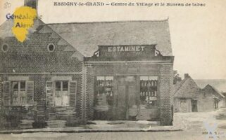 Estaminet vers 1900 - Contributeur : Mme Thérèse Barjavel