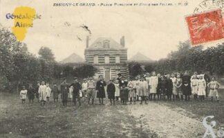 L'école des filles vers 1908 - Contributeur : Mme Thérèse Barjavel